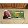 """FANMATS Texas Scraper Mat 19""""x30"""" - Ball"""