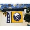 "FANMATS Buffalo Sabres Uniform Inspired Starter Rug 19""x30"""