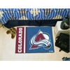 "FANMATS Colorado Avalanche Uniform Inspired Starter Rug 19""x30"""
