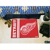 "FANMATS Detroit Red Wings Uniform Inspired Starter Rug 19""x30"""