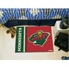 "FANMATS Minnesota Wild Uniform Inspired Starter Rug 19""x30"""