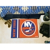 "FANMATS New York Islanders Uniform Inspired Starter Rug 19""x30"""