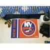 "FANMATS New York Islanders Uniform Inspired Starter Rug 19""x30"""