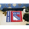 "FANMATS New York Rangers Uniform Inspired Starter Rug 19""x30"""