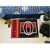"""FANMATS Ottawa Senators Uniform Inspired Starter Rug 19""""x30"""""""