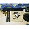 "FANMATS Pittsburgh Penguins Uniform Inspired Starter Rug 19""x30"""