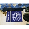 "FANMATS Tampa Bay Lightning Uniform Inspired Starter Rug 19""x30"""