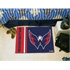 "FANMATS Washington Capitals Uniform Inspired Starter Rug 19""x30"""