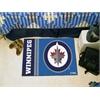 "FANMATS Winnipeg Jets Uniform Inspired Starter Rug 19""x30"""
