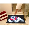 "FANMATS Fresno State All-Star Mat 33.75""x42.5"" - black"