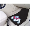 "FANMATS Fresno State 2-piece Carpeted Car Mats 17""x27"" - black"