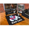 "FANMATS Fresno State Man Cave All-Star Mat 33.75""x42.5"" - black"