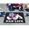 FANMATS Fresno State Man Cave UltiMat Rug 5'x8' - black