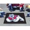 FANMATS Fresno State Tailgater Rug 5'x6' - black