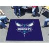 FANMATS NBA - Charlotte Hornets Tailgater Rug 5'x6'