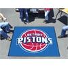 FANMATS NBA - Detroit Pistons Tailgater Rug 5'x6'