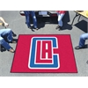 FANMATS NBA - Los Angeles Clippers Tailgater Rug 5'x6'