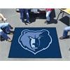 FANMATS NBA - Memphis Grizzlies Tailgater Rug 5'x6'