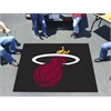 FANMATS NBA - Miami Heat Tailgater Rug 5'x6'