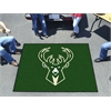 FANMATS NBA - Milwaukee Bucks Tailgater Rug 5'x6'