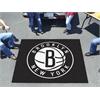 FANMATS NBA - Brooklyn Nets Tailgater Rug 5'x6'
