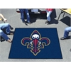 FANMATS NBA - New Orleans Pelicans Tailgater Rug 5'x6'