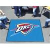 FANMATS NBA - Oklahoma City Thunder Tailgater Rug 5'x6'