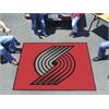 FANMATS NBA - Portland Trail Blazers Tailgater Rug 5'x6'