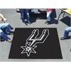 FANMATS NBA - San Antonio Spurs Tailgater Rug 5'x6'
