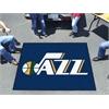 FANMATS NBA - Utah Jazz Tailgater Rug 5'x6'
