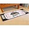 "FANMATS Western Michigan Rink Runner 30""x72"""