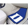 "FANMATS Duke ""D"" 2-piece Carpeted Car Mats 17""x27"""