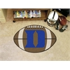 "FANMATS Duke ""D"" Football Rug 20.5""x32.5"""