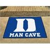 """FANMATS Duke """"D"""" Man Cave All-Star Mat 33.75""""x42.5"""""""