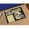 "FANMATS Colorado Uniform Inspired Starter Rug 19""x30"""