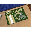 "FANMATS Colorado State University Uniform Inspired Starter Rug 19""x30"""