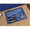 """FANMATS Memphis Uniform Inspired Starter Rug 19""""x30"""""""