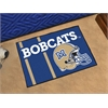 "FANMATS Montana State Uniform Inspired Starter Rug 19""x30"""