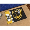 "FANMATS Virginia Commonwealth Uniform Inspired Starter Rug 19""x30"""