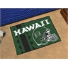 "FANMATS Hawaii Uniform Inspired Starter Rug 19""x30"""