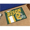 "FANMATS North Dakota State Uniform Inspired Starter Rug 19""x30"""