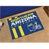 "FANMATS Northern Arizona Uniform Inspired Starter Rug 19""x30"""