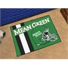 "FANMATS North Texas Uniform Inspired Starter Rug 19""x30"""
