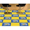 "FANMATS San Jose State University Carpet Tiles 18""x18"" tiles"