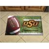 "FANMATS Oklahoma State Scraper Mat 19""x30"" - Ball"