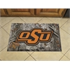 """FANMATS Oklahoma State Scraper Mat 19""""x30"""" - Camo"""