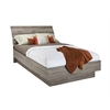 Naia Full Bed with Slats, Truffle
