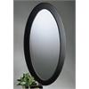 Butler Mozart Café Noir Oval Mirror, Café Noir