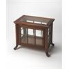 Chopin Vintage Oak Side Chair Curio, Vintage Oak