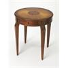 BUTLER Side Table, Olive Ash Burl